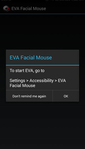 Eva Facial Mouse