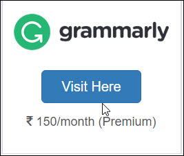 Get Grammarly Premium Account Via Using Flikover