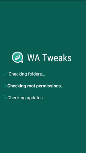 wa tweaks root permission