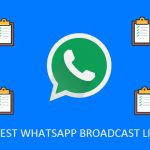 Best WhatsApp Broadcast List to Join Today(2017)