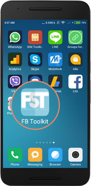 facebook toolkit for android