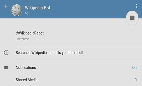 Wikipedia Bot