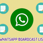 Best WhatsApp Broadcast List to Join Today(2018)