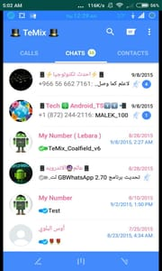 Download the GBWhatsapp Themes Pack and XML File