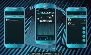 Gbwhatsapp Chelsea theme