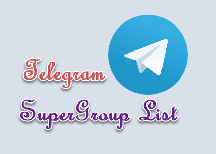 telegram supergroup list