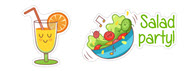 Food lover Viber stickers