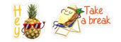 Pineapple Viber stickers