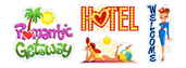 Romantic gateway Viber stickers