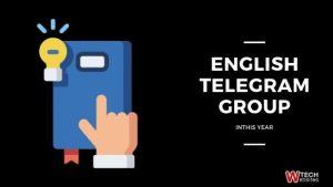 english telegram group