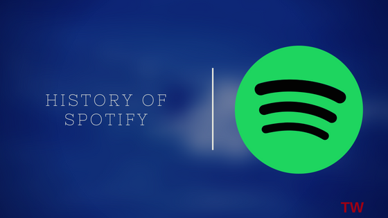 history of spotify