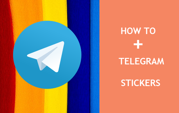 How to add stickers in telegram