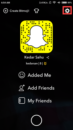 find snapchat freinds list image 2