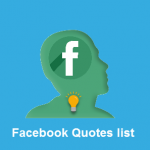 Facebook quotes list in 2018 ( All Categories)