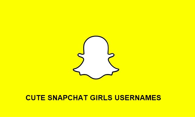 Cute usernames for snapchat
