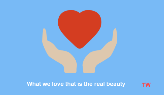 What we love that is the real beauty