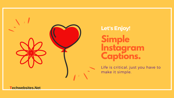 how to make an instagram caption