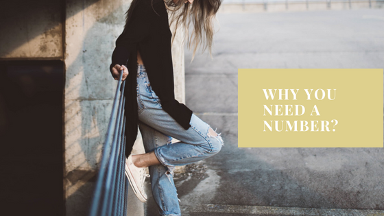 Why you need a number?
