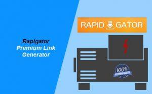 rapigator premium link generator