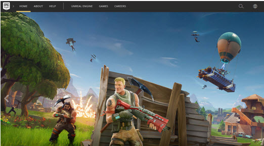 Epic games account