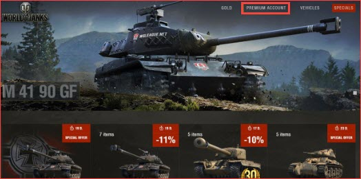 World of Tanks Premium Account For Free step 3