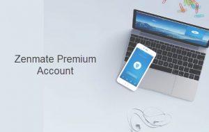Zenmate Premium Account
