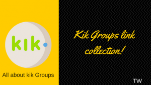 kik groups link