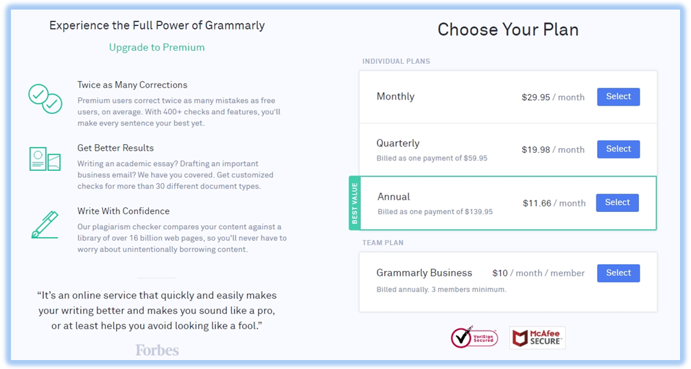 Grammarly Review 2019: is grammarly worth it ?