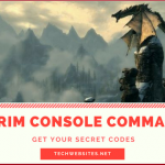 100+ Skyrim Console Commands List 2018