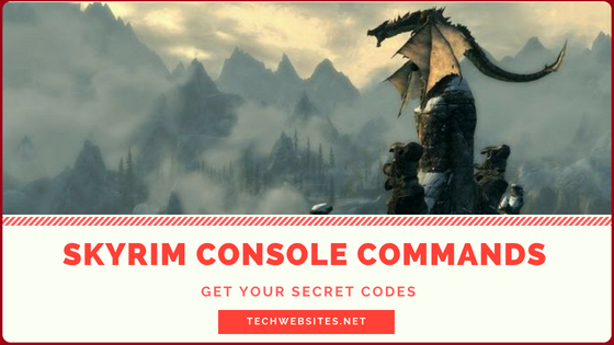 Skyrim Console Commands