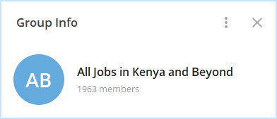 Rating: best kenya telegram channels