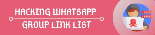 hacking whatsapp group link list