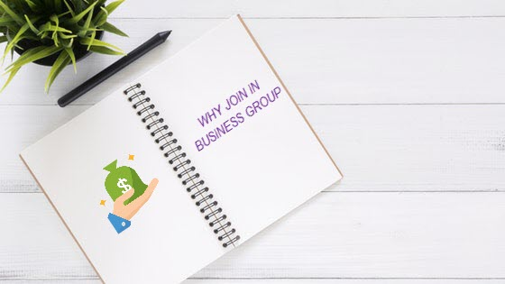 join in business group