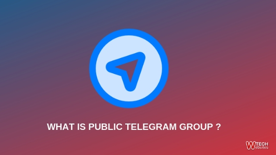 WHAT IS PUBLIC TELEGRAM GROUP