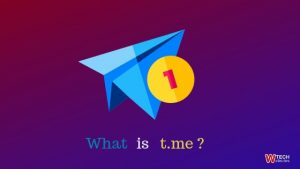 What is t.me on telegram