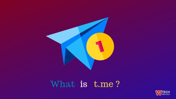 What is t.me Telegram ? 1