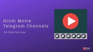 Hindi Movie Telegram Channel list