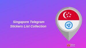 Singapore Telegram Stickers