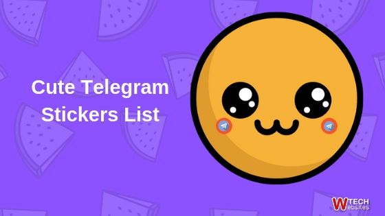 cute telegram stickers list
