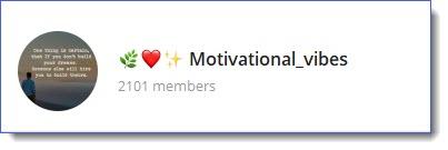 Motivation Vibes