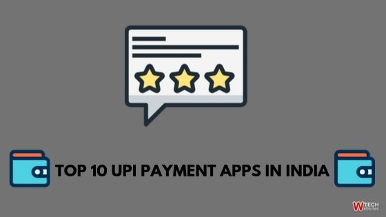 UPI Payment Apps in india