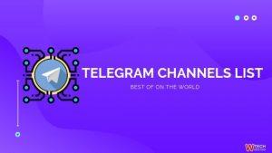 Best Telegram Channels List