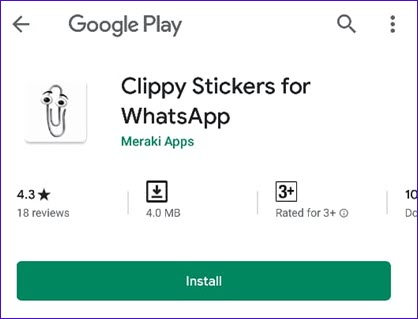 clippy stickers