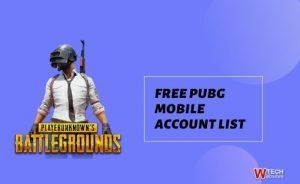 pubg mobile account
