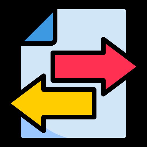 Three modes of transferring data
