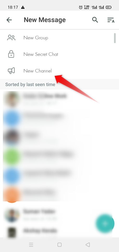 create telegram channel android 2