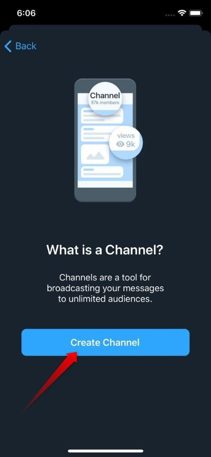 create iphone channel 3