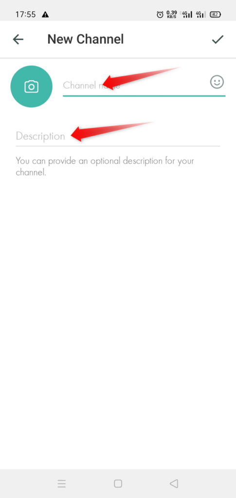 create telegram channel android 3